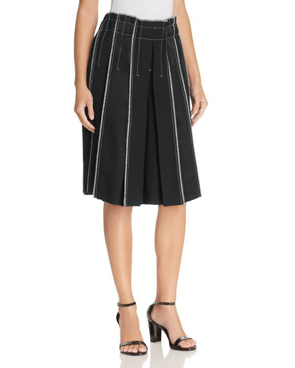 Dkny Pleated Panel Culottes
