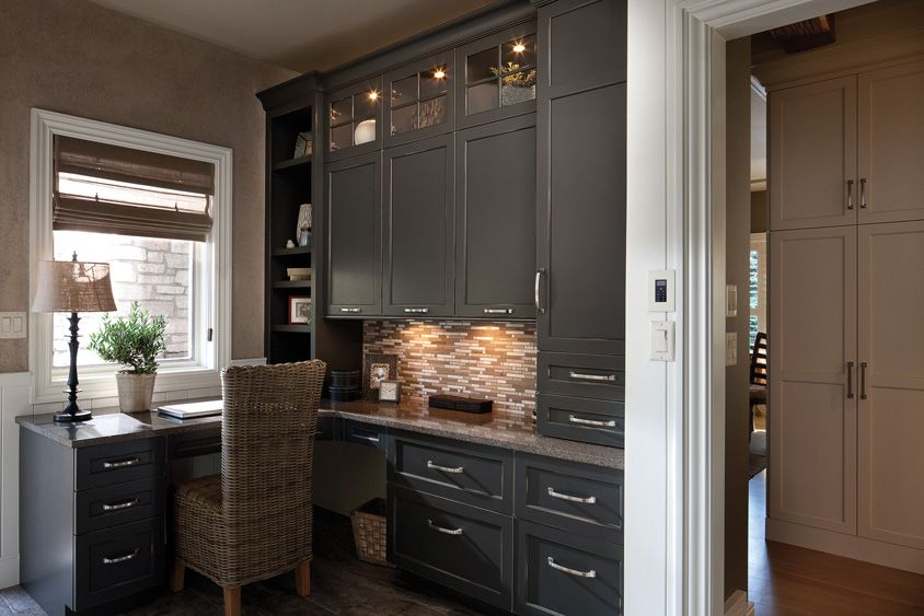 Home Office Interiors  Builtin Desks  Pinterest  Desk Areas Fascinating Small Office Kitchen Design Ideas Decorating Inspiration