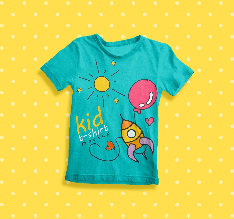 Download Free Kid T Shirt Mockup Psd Free Mockup Shirt Mockup Tshirt Mockup Clothing Mockup