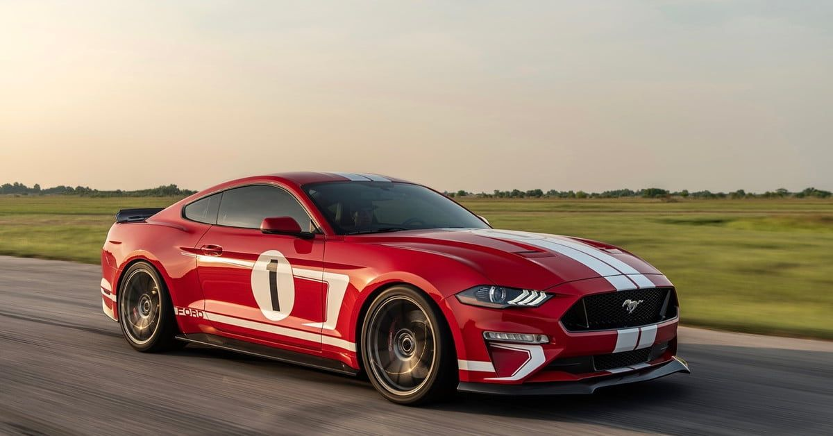 Hennessey S Heritage Edition Mustang Boasts 808 Horsepower Retro