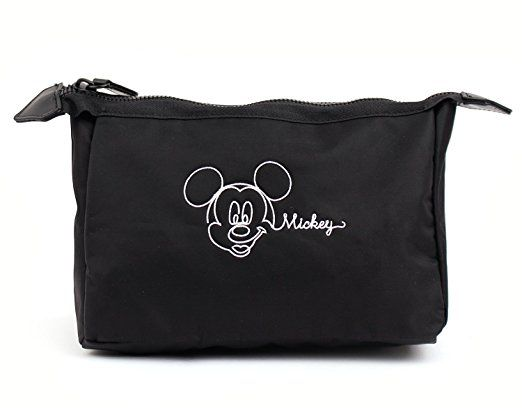 4fc775afc386 Disney Mickey Mouse Triangle Pouch Clutch Makeup Bag