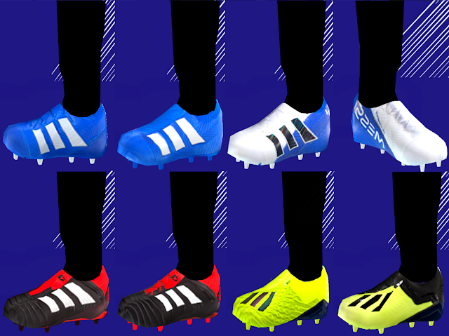 Adidas Team Mode Boots pack 2018/19 PES PPSSPP | soccer game