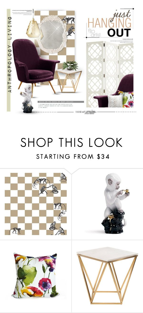 """""""Come and Play #flipthisartist"""" by luckied99 ❤ liked on Polyvore featuring interior, interiors, interior design, home, home decor, interior decorating, Fornasetti, Lladró, Nuevo and Ethan Allen"""