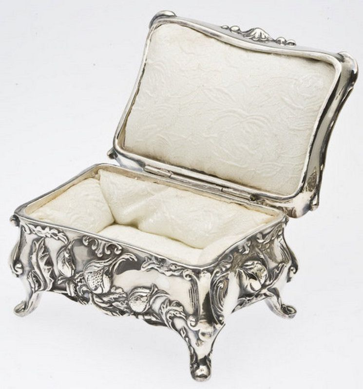 Silver Plated Jewelry Box Finest Exclusive Silver Jewelry