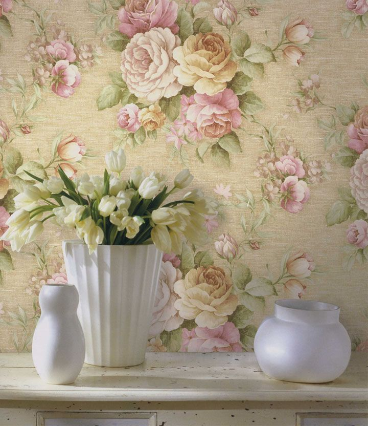 Fabric And Wallpaper On Pinterest Vintage Wallpapers