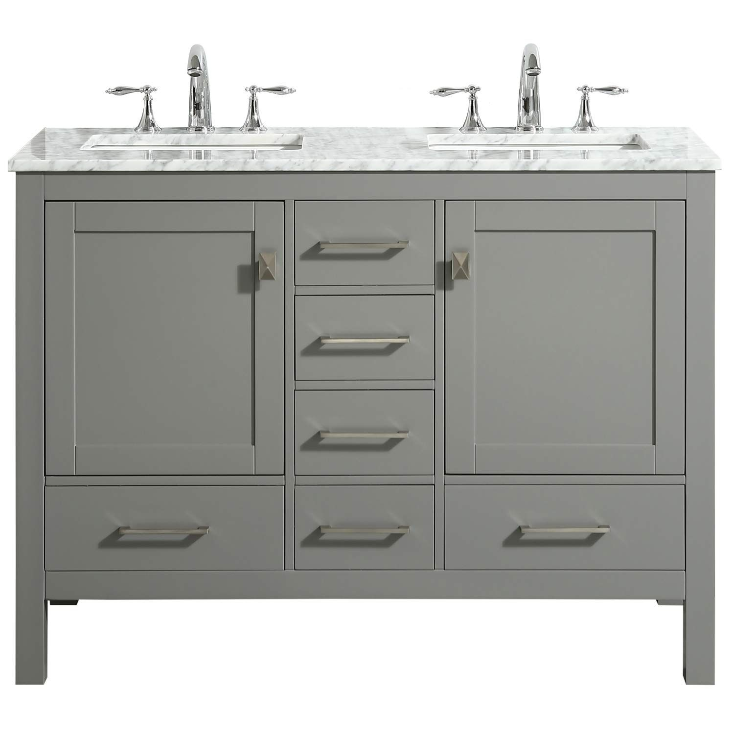 Eviva Evvn412 48gr Ds Aberdeen 48 Transitional Gray White Carrara