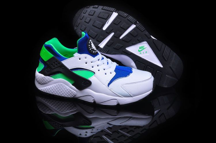 http://www.nikeblazershoes.com/nike-air-huarache-white-green-black-mens-running-shoes-p-416.html NIKE AIR HUARACHE WHITE GREEN BLACK MENS RUNNING SHOES Only $75.39 , Free Shipping!