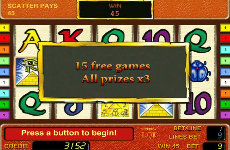 Игровые Автоматы Фараон Играть Бесплатно В Онлайне