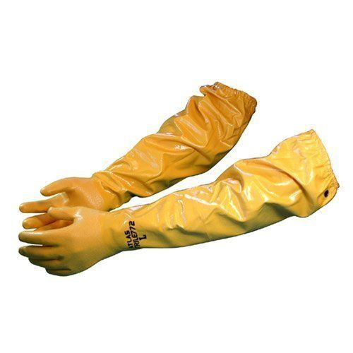 Atlas 772 Large Nitrile Chemical Resistant Gloves 25 Yellow 1Pair Size 25 Model 772 >>> Continue to the product at the image link.