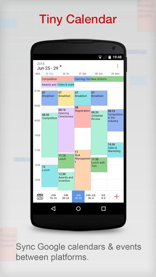 Apklio Apk for Android Tiny Calendar Pro Calendar App 1