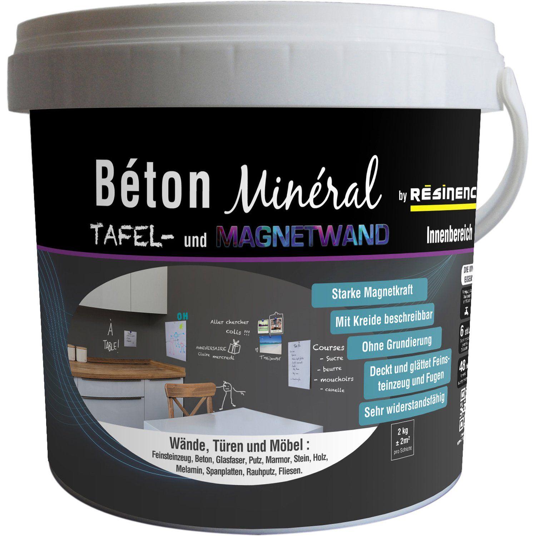 Resinence Beton Mineral Tafel Magnetik 2 Kg