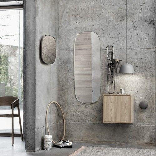 Framed mirror INSPI - SALLE DE BAIN Pinterest Frame mirrors