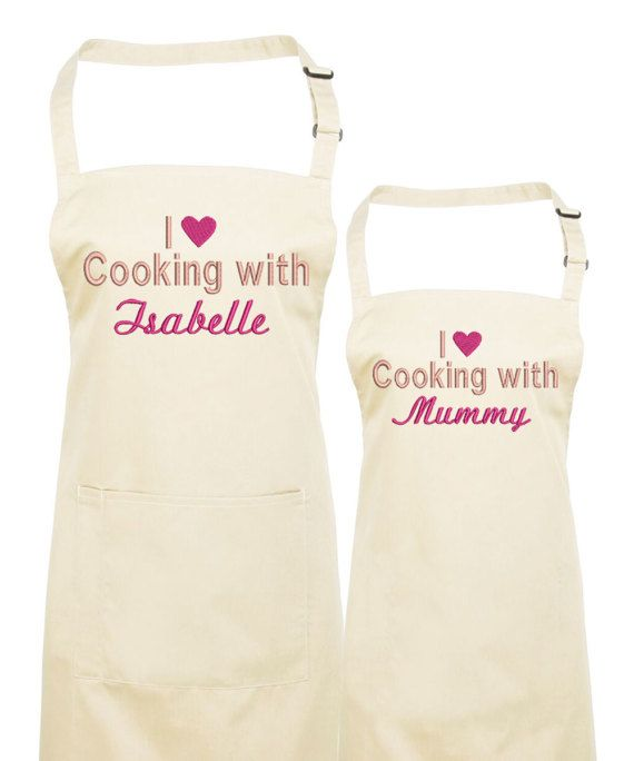 Gift ideas for Her Mama Apron Personalised Apron Custom Apron Mothers day Gift Ideas