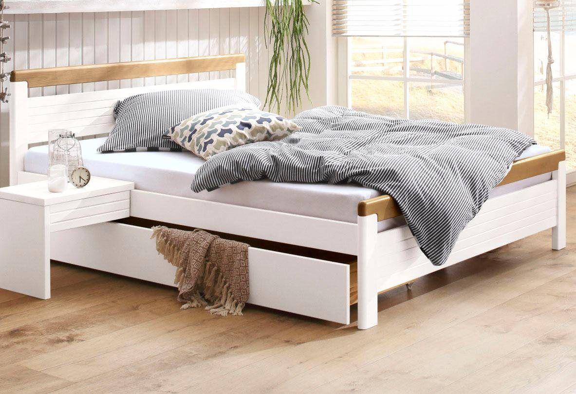 Bett »Capre«, in 4 verschiedenen Liegeflächen Bett mit