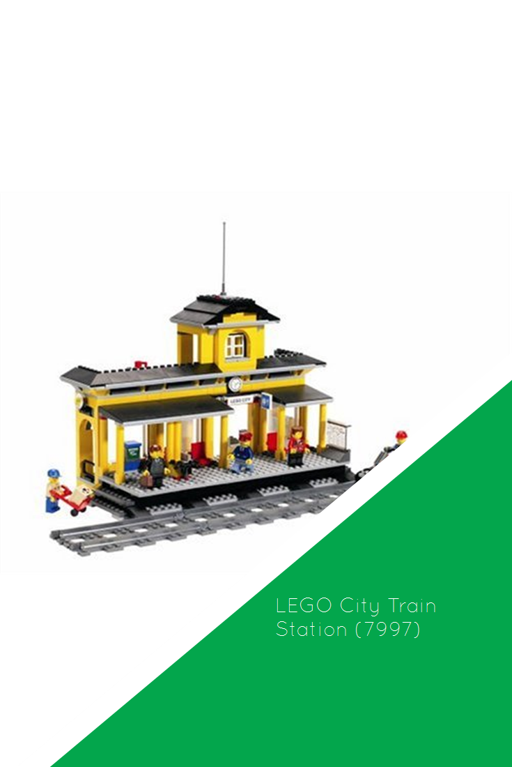 Lego City Train Station 7997 Sale Lego City Train Lego Train Station Lego City
