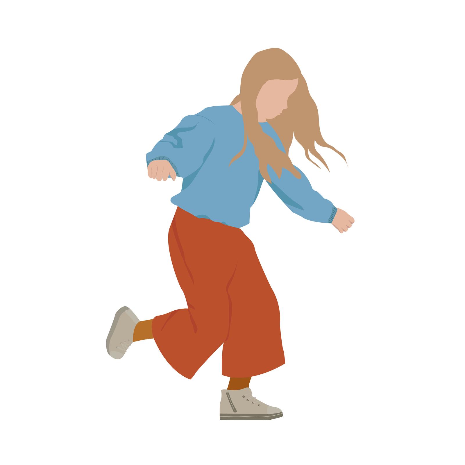 Kids Vector Illustration Download Now Studio Alternativi Children Illustration People Illustration Running Illustration