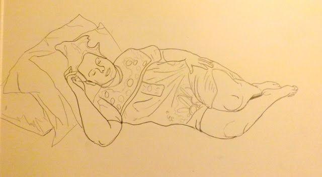 DONKEYWOLF #drawing #sketch #self portrait