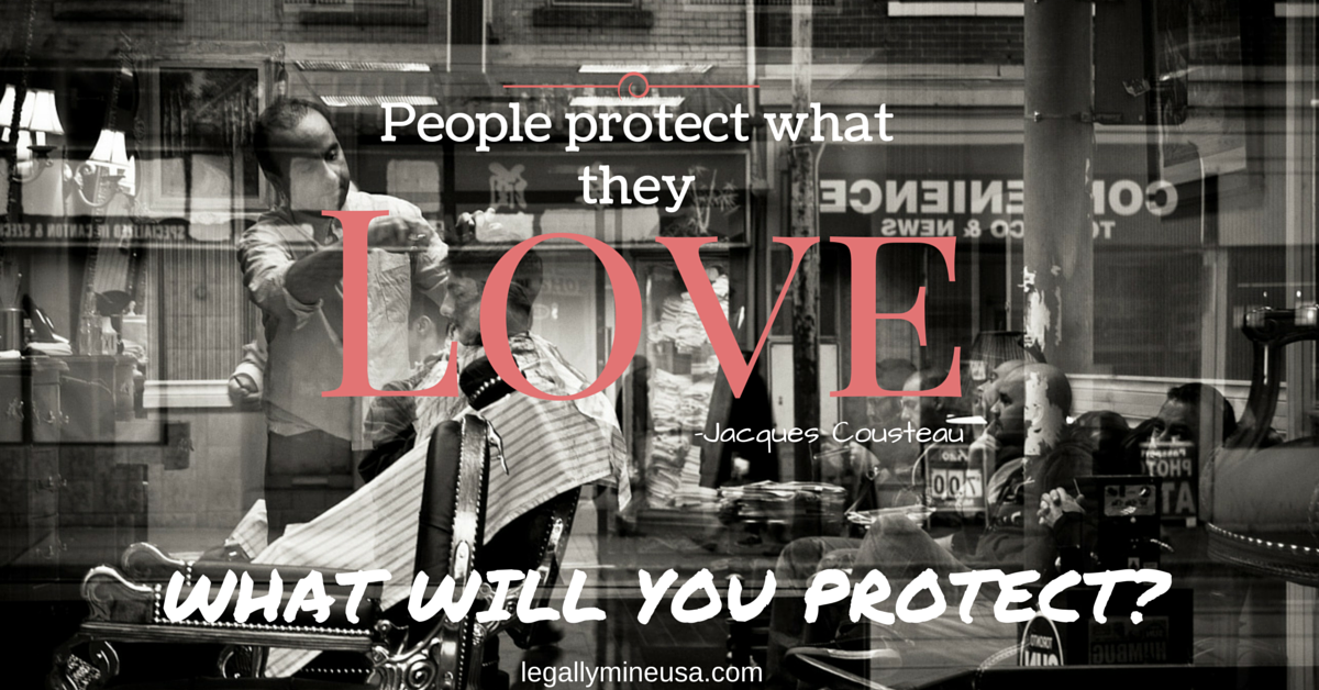 Protect what you love. #legallymine   What will you protect?