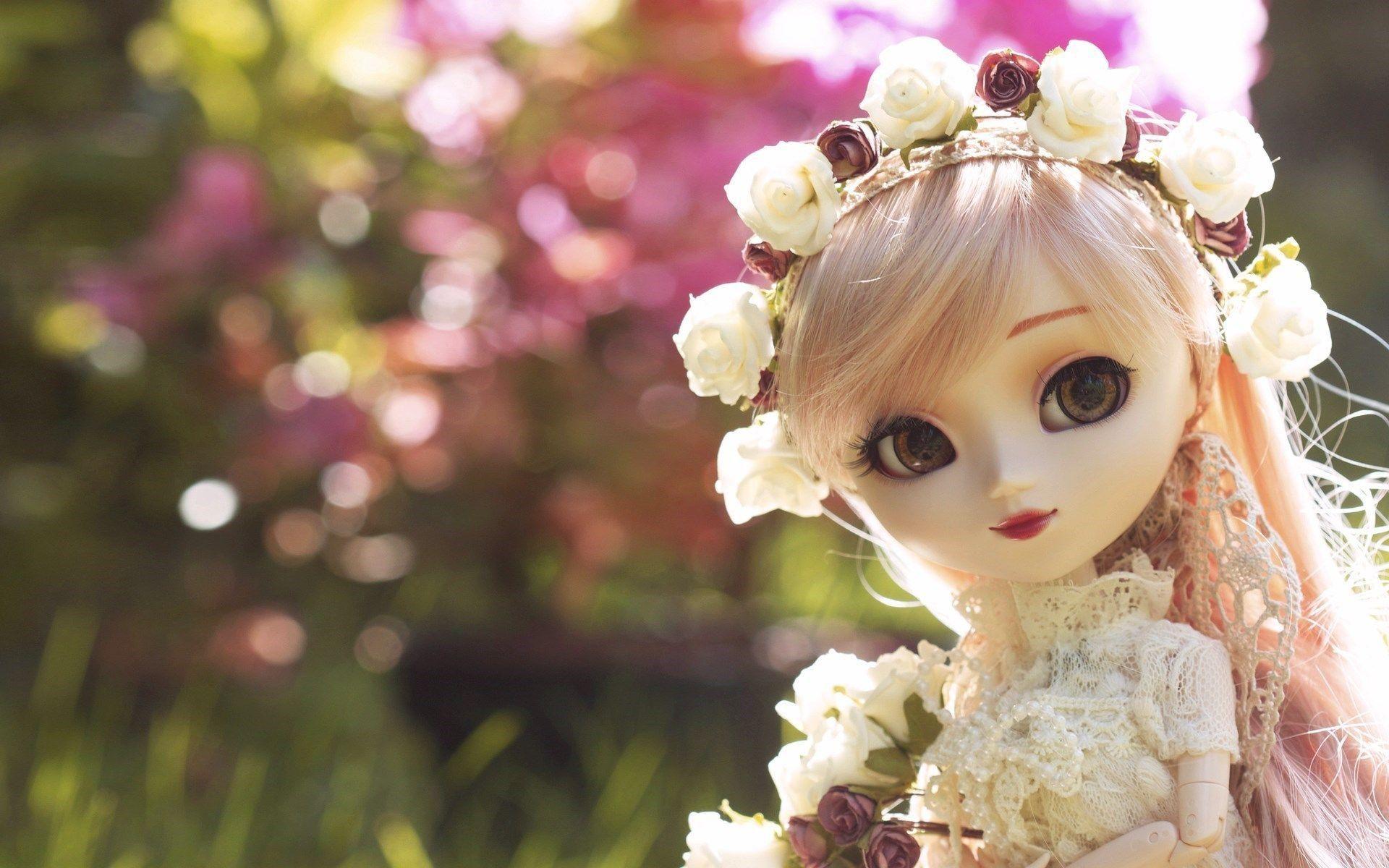 Cute Barbie Pic Hd Doll Wallpaper Cute Barbie Wedding Doll Cute wallpaper new barbie doll