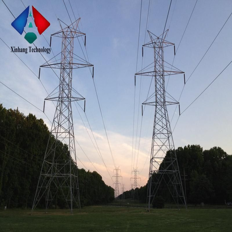 Electric Pylons Self Supporting Tower Galvanized Pole Malaysia