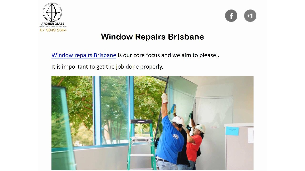 Window Repairs Brisbane Is Our Core Focus And We Aim To Please It Is Important To Get The Job Done Properly It Takes Window Repair Window Replacement Repair