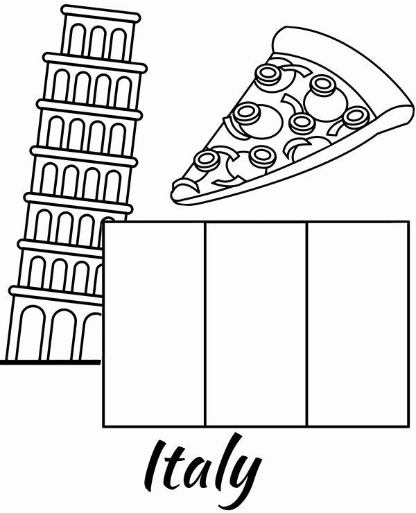 Italy Flag Coloring Page In 2020 Best Flags Flag Coloring Pages