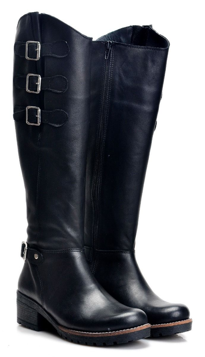 0d448315 botas mujer caña alta zapatos hebillas almacen de cueros | zapatos ...
