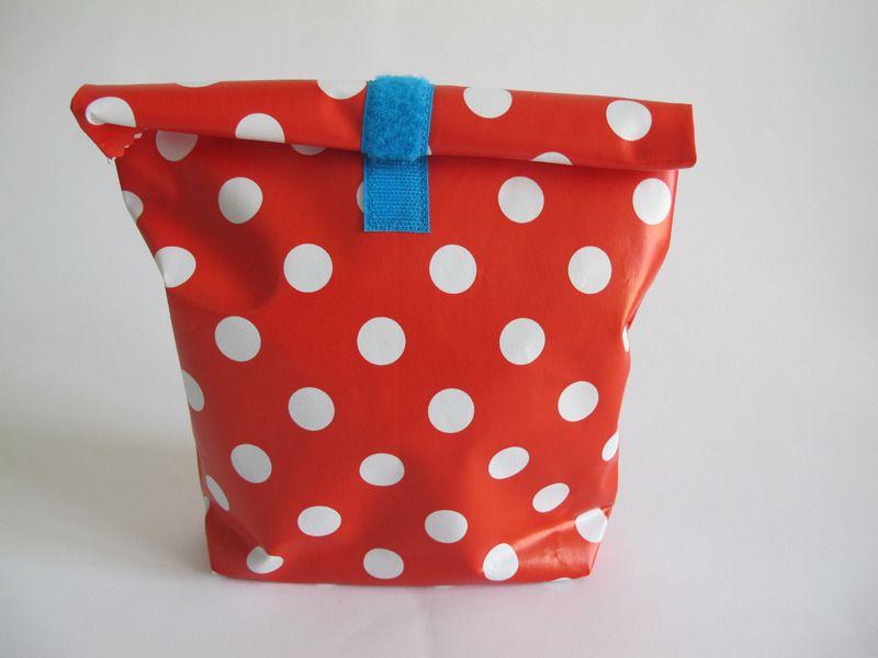 Lunchbag red dots de kids&co sur DaWanda.com