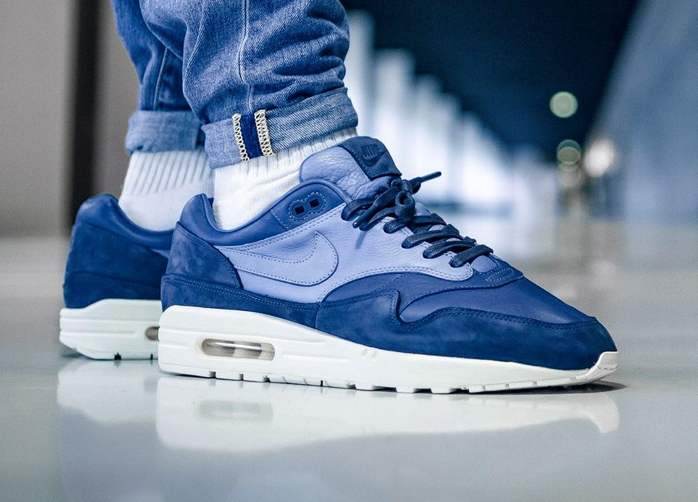 sports shoes b5baf e8199 NikeLAB Air Max 1 Pinnacle - Ocean FogWork Blue - 2017 (by Eric Neiß)  Available Nike.com  End Clothing  Sneakersnstuff  Afew  Overkill   More shops