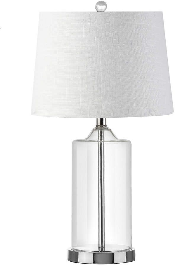 Jonathan Y Designs Walsh 25in Glass Table Lamp Glass Table Lamp Lamp Glass Table