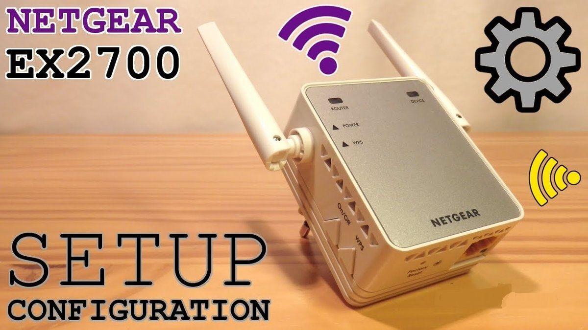 NETGEAR EX2700 extender Netgear, Setup, Wps