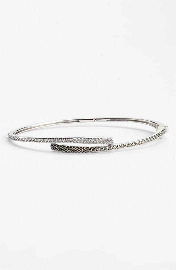 Judith Jack Crystal Glitz Bangle Bracelet