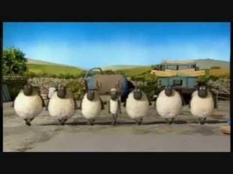 Shaun the Sheep - Irish Song- Lord of the Dance (lyrics) - the kids loved this one!!