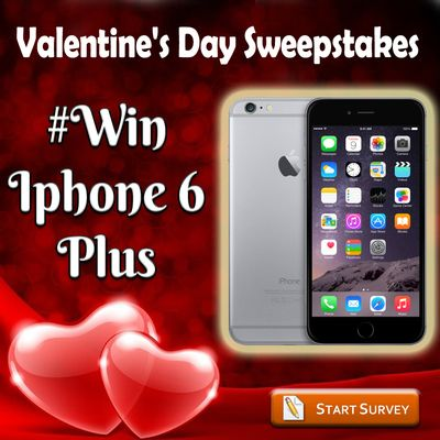 ‪#‎Valantines‬ Day ‪#‎Sweepstakes‬ Win ‪#‎iphone6‬ ‪#‎plus‬ by participating in a ‪#‎contest‬ For More Details:http://bit.ly/1DIhnrO