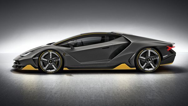 Lamborghini Centenario Side View Wallpaper Hd Wallpapers