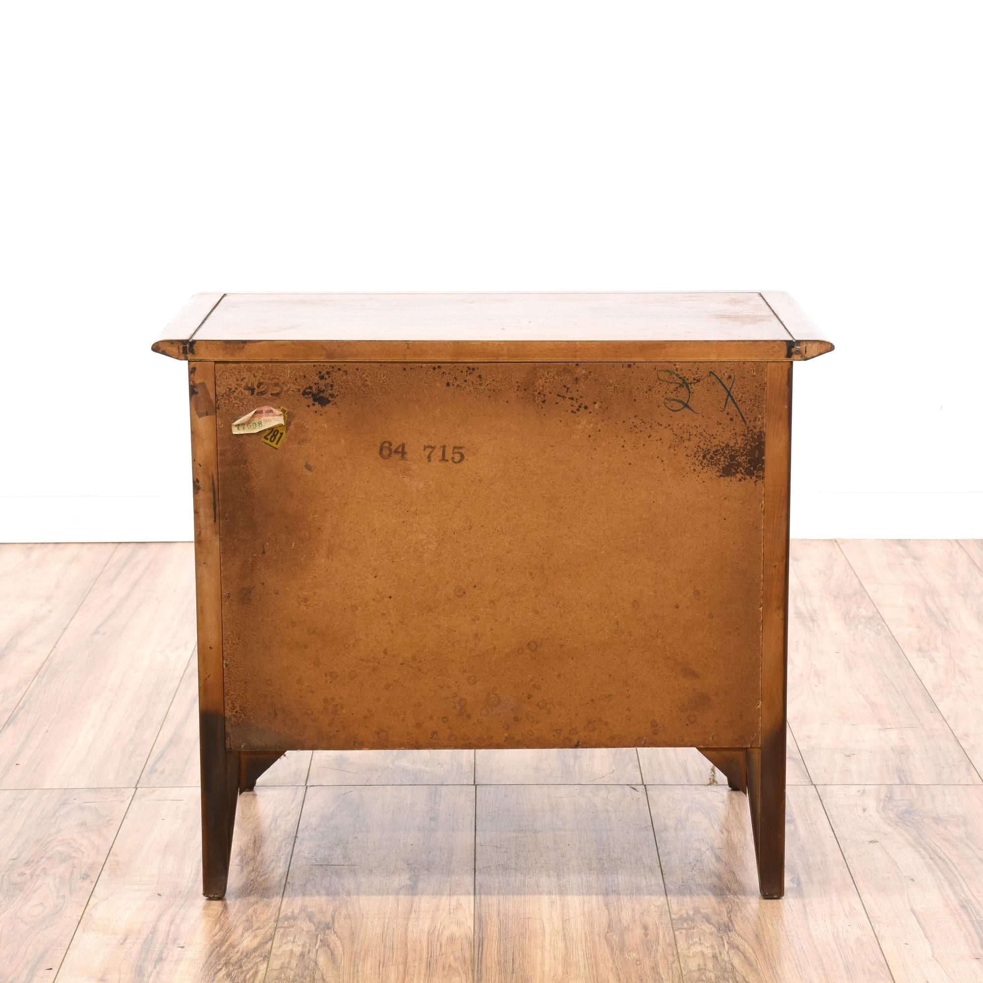 This Mid Century Modern Nightstand Is Featured In A Solid