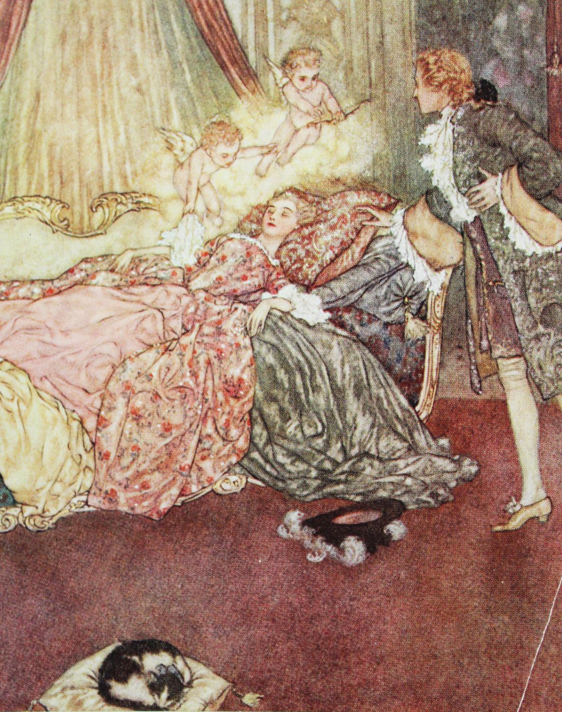 edmund dulac s sleeping beauty from the sleeping beauty and other rh pinterest com