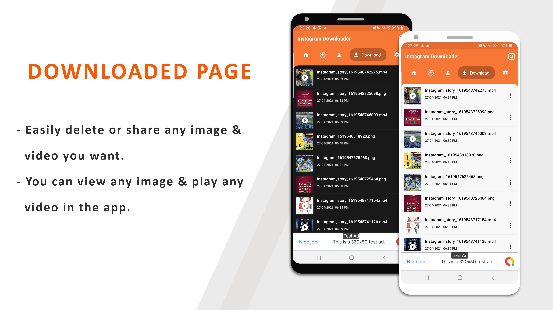 Instagram Downloader - Videos, Photos, Stories, Reels, ITGV - All In One Instagram Downloader App - 5