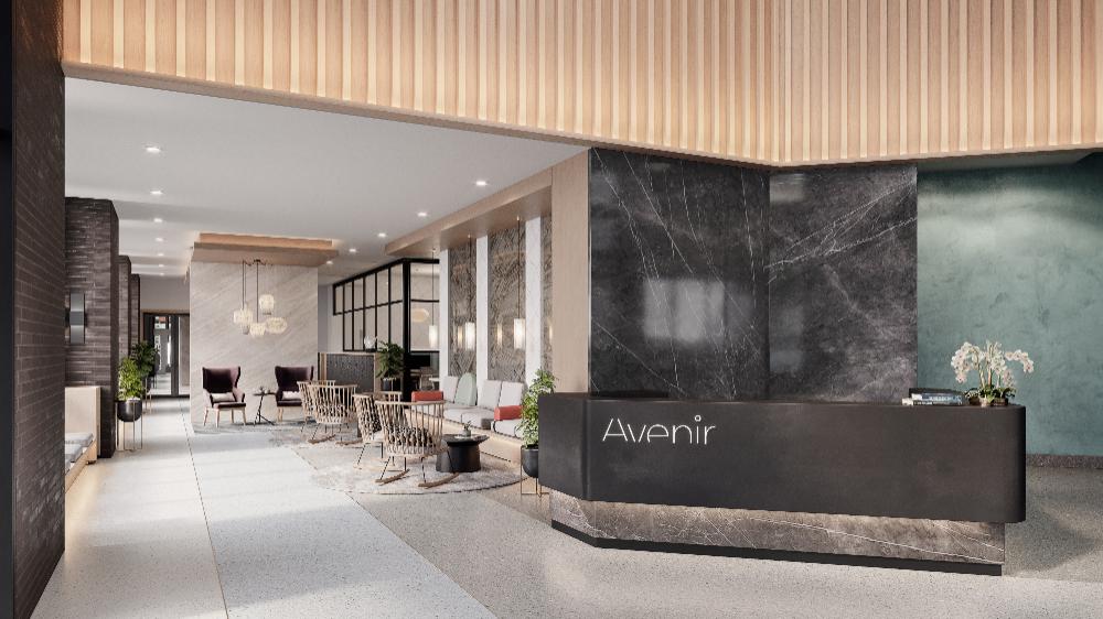 Inside Milwaukee Avenue's 'Avenir' apartments, opening in