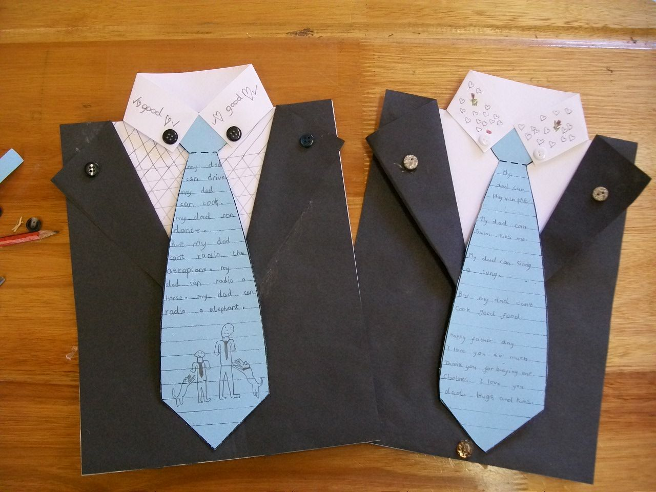 Grade 2 And 3 Father S Day Idea