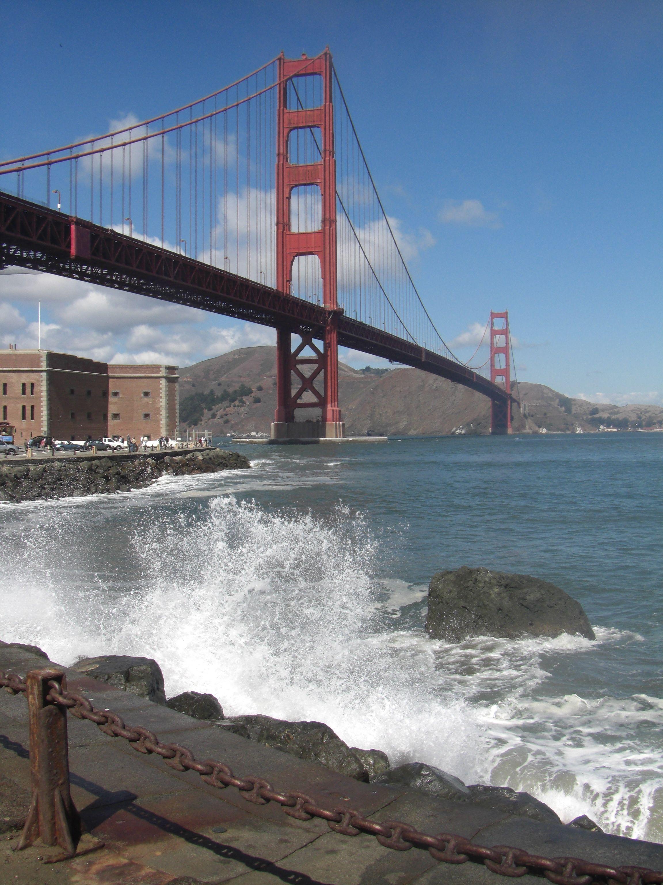 Golden Gate Bridge San Francisco Golden