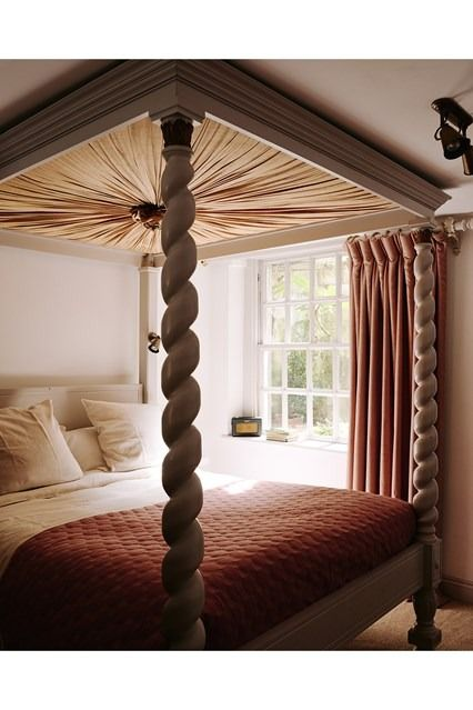 fourposter bedroom traditional bath b b ceilings decoration and rh pinterest com