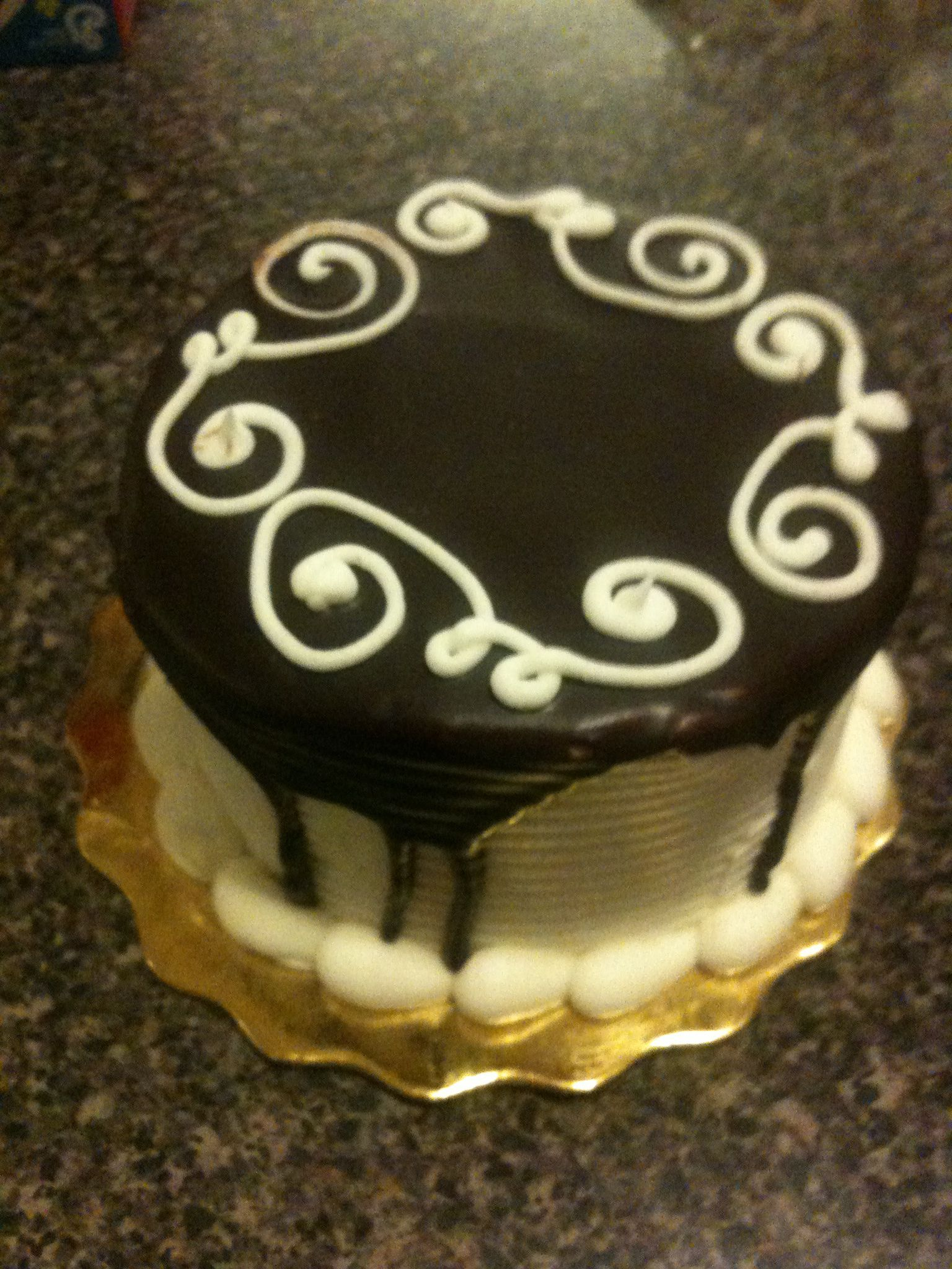 Prime Black White Cake From Whole Foods Black White Cakes Cake White Birthday Cards Printable Inklcafe Filternl