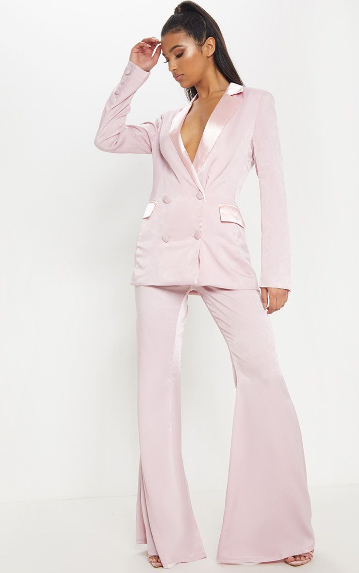 Baby Pink Pant Suit