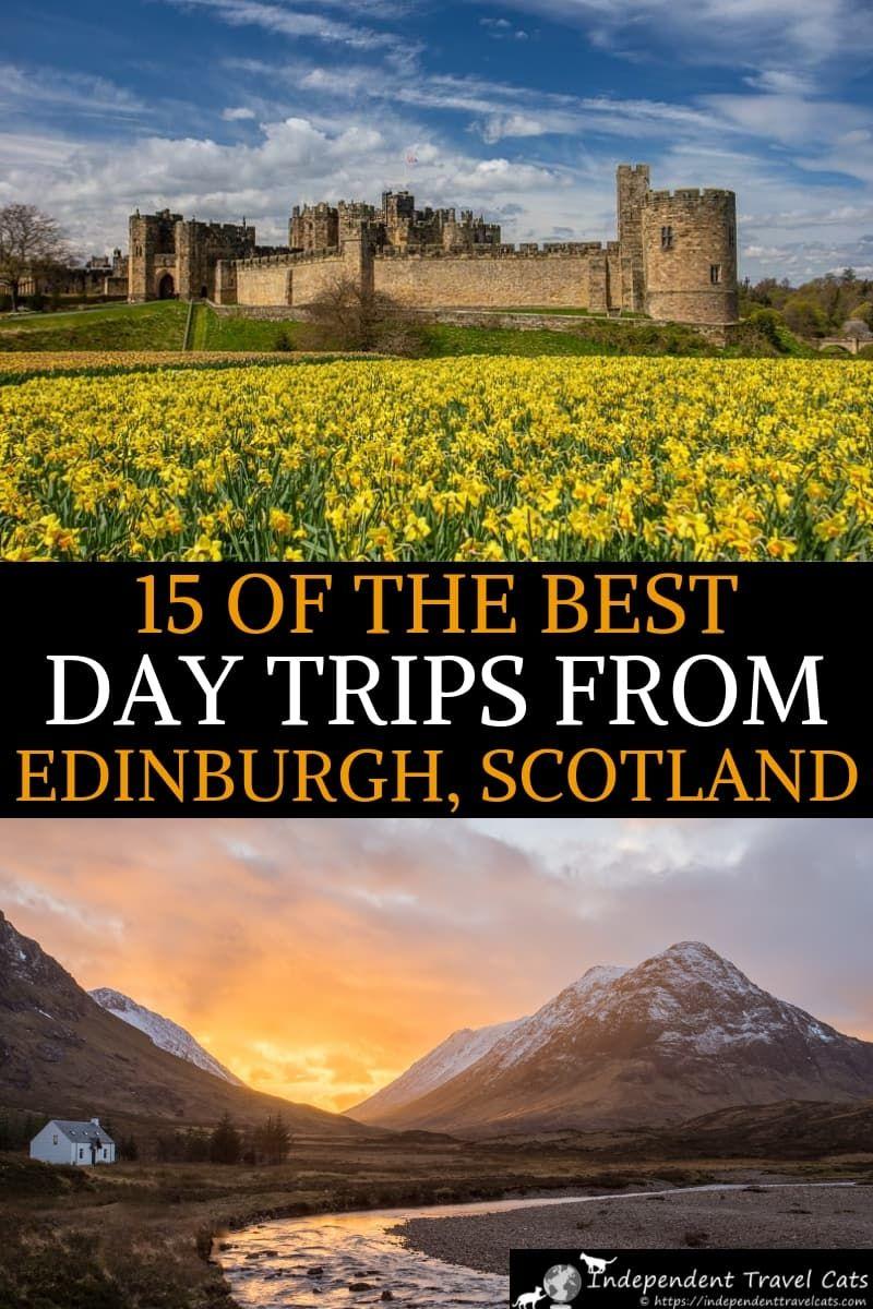 15 Best Day Trips from Edinburgh Scotland #travelscotland
