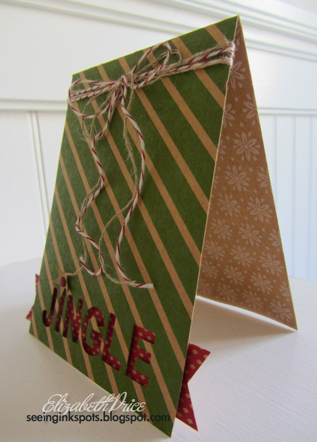 Colored Kraft Paper With Prints On Both Sides Make The Perfect Base For A  Handmade Christmas