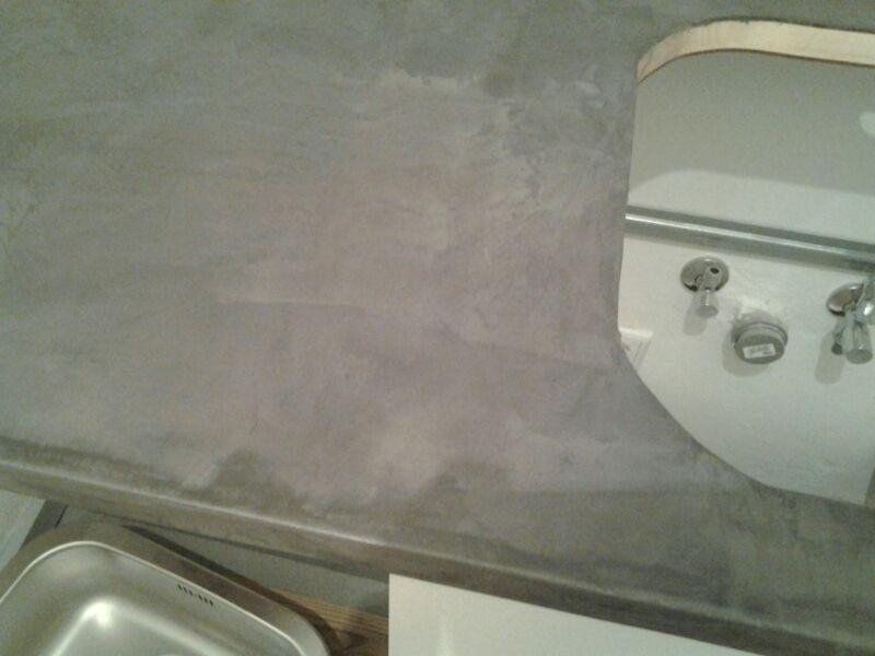 Beton Cire   Badezimmer Boden Küche