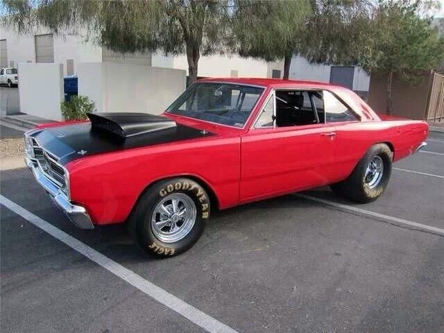 Red Rocker Muscle Cars Mopar Dodge Hemi