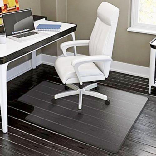 plastic floor mat heavy duty clear protector home office chair rh co pinterest com