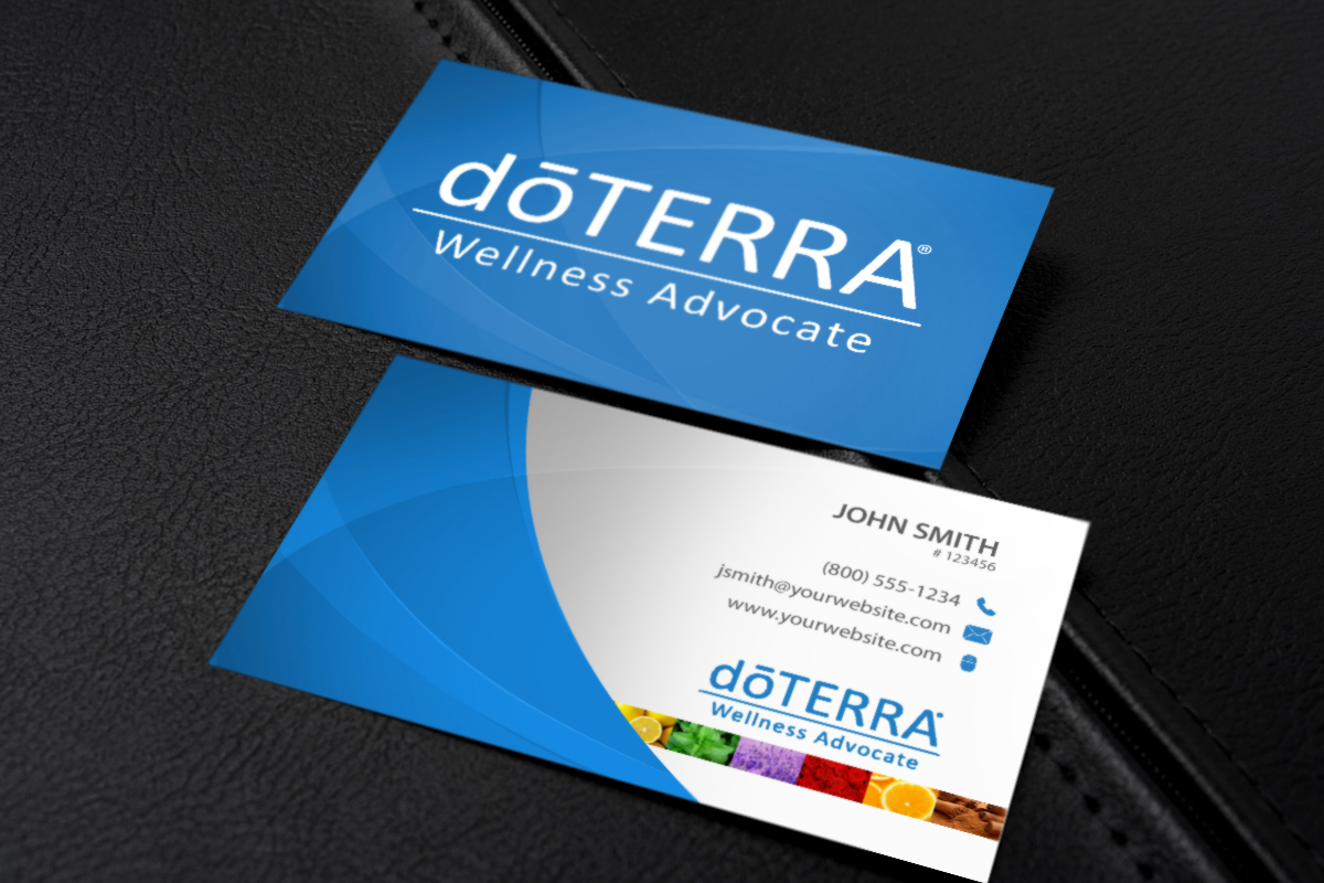 We Ve Got Your Doterra Business Card Needs Covered Mlm Doterra Print Paper Graphicdesign Bus Doterra Business Cards Doterra Business Free Business Cards